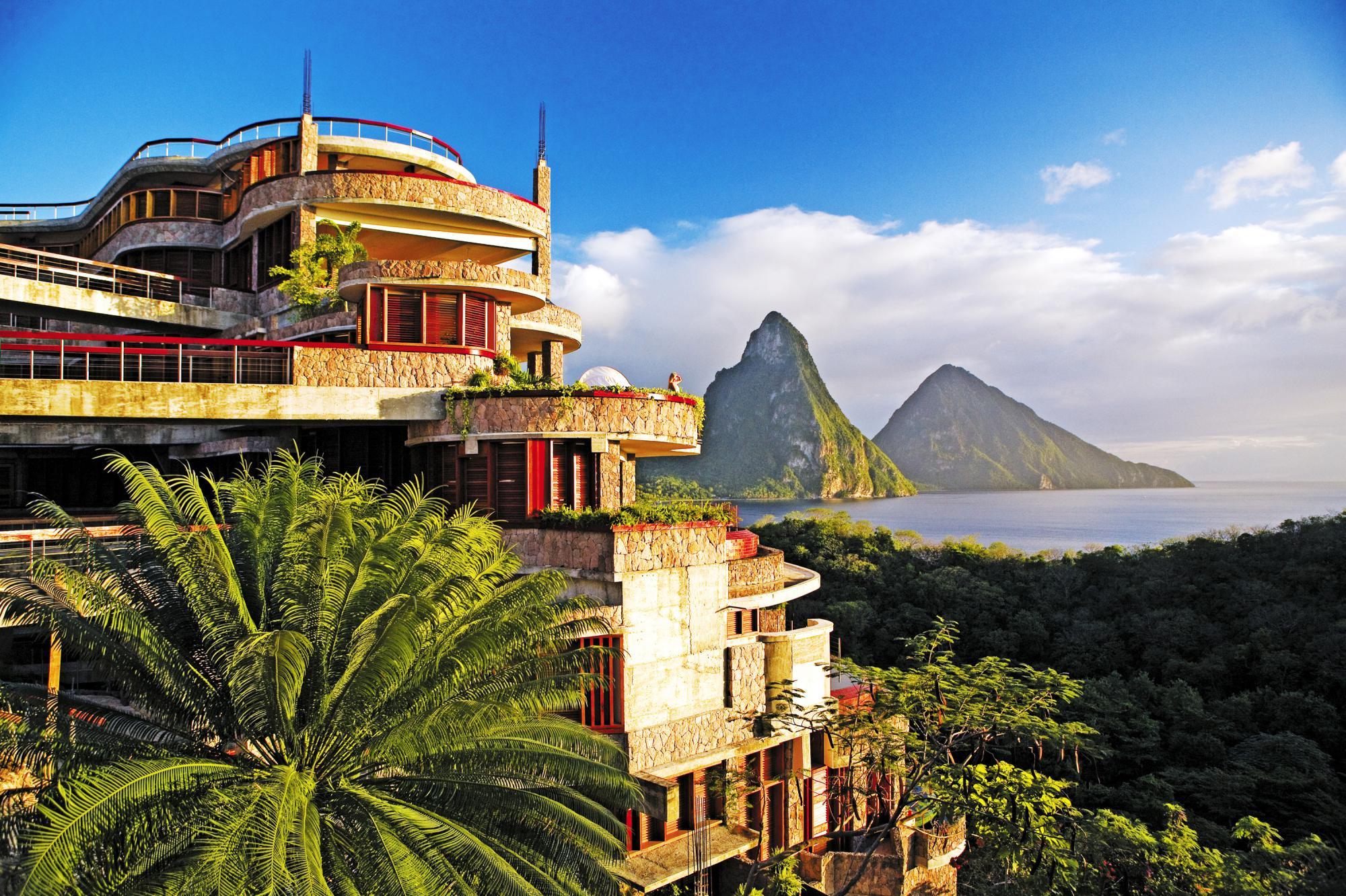 L'hotel immerso nella natura caraibica