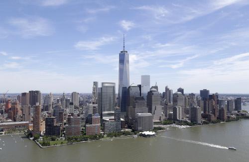 La città di New York, situata nello Stato omonimo