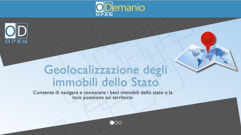 La piattaforma digitale OpenDemanio