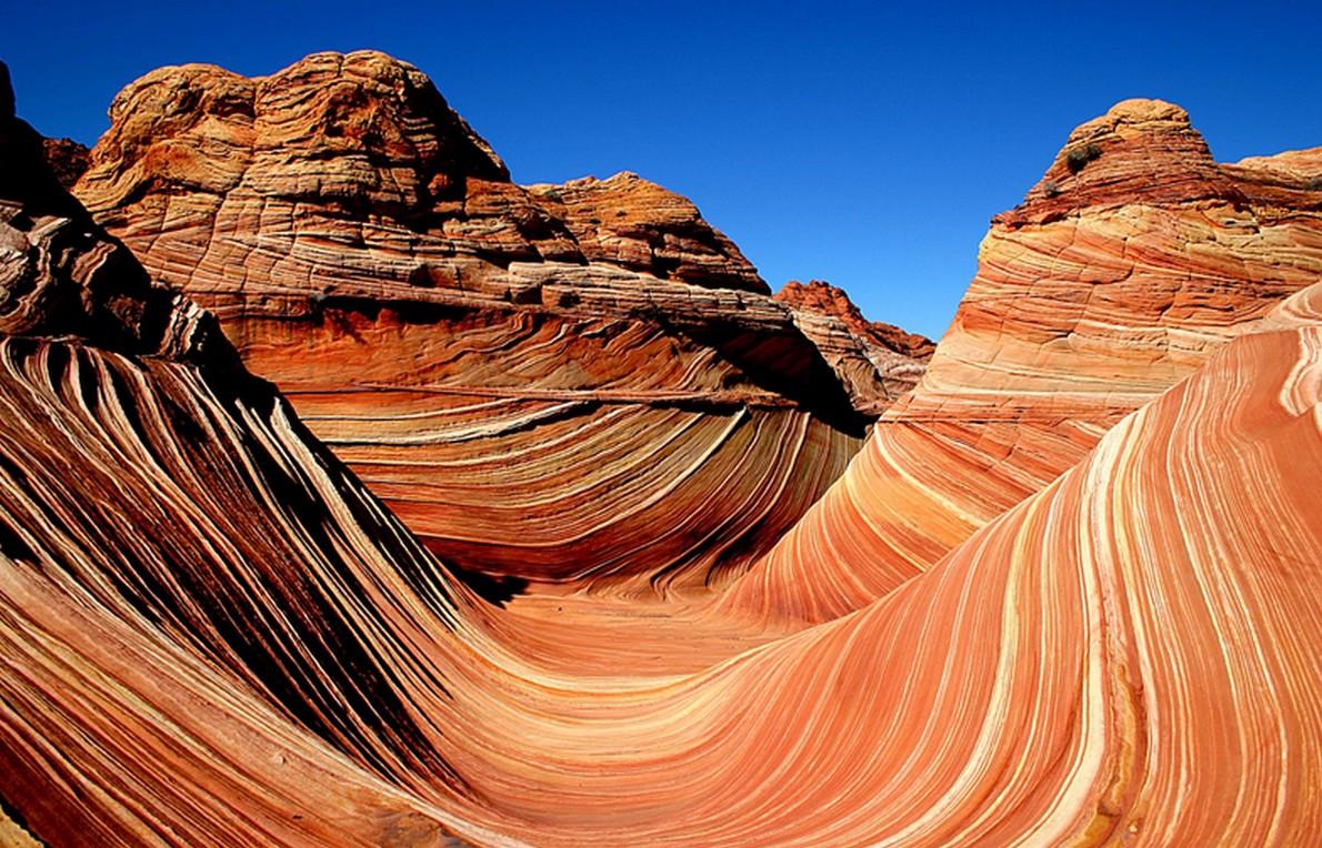 Il caratteristico paesaggio dell'Arizona