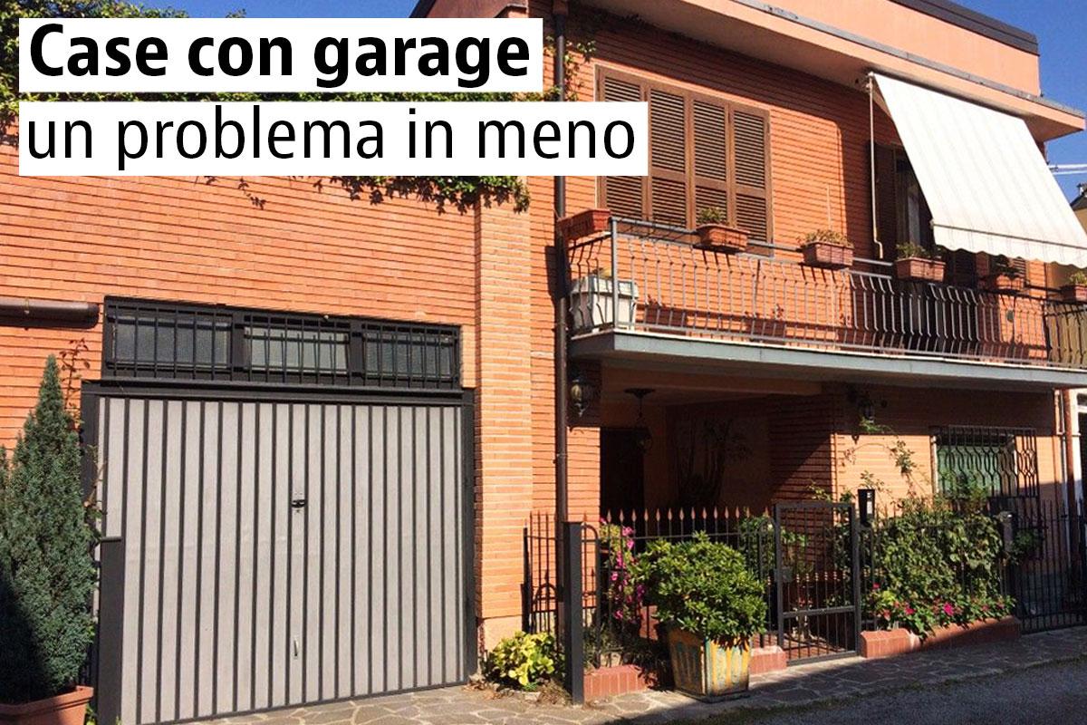 Case con garage esterno o sotterraneo idealista news - Garage sotterraneo ...