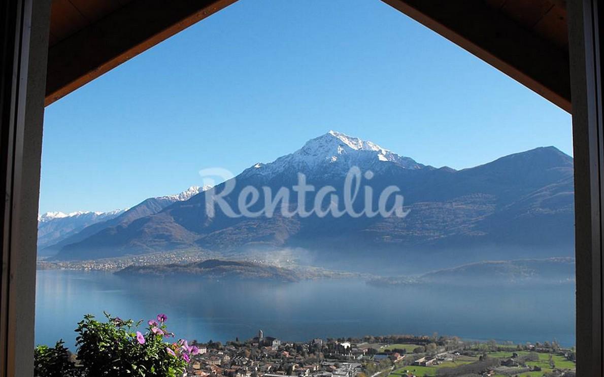 Appartamento con vista sul lago di Como a Gravedona