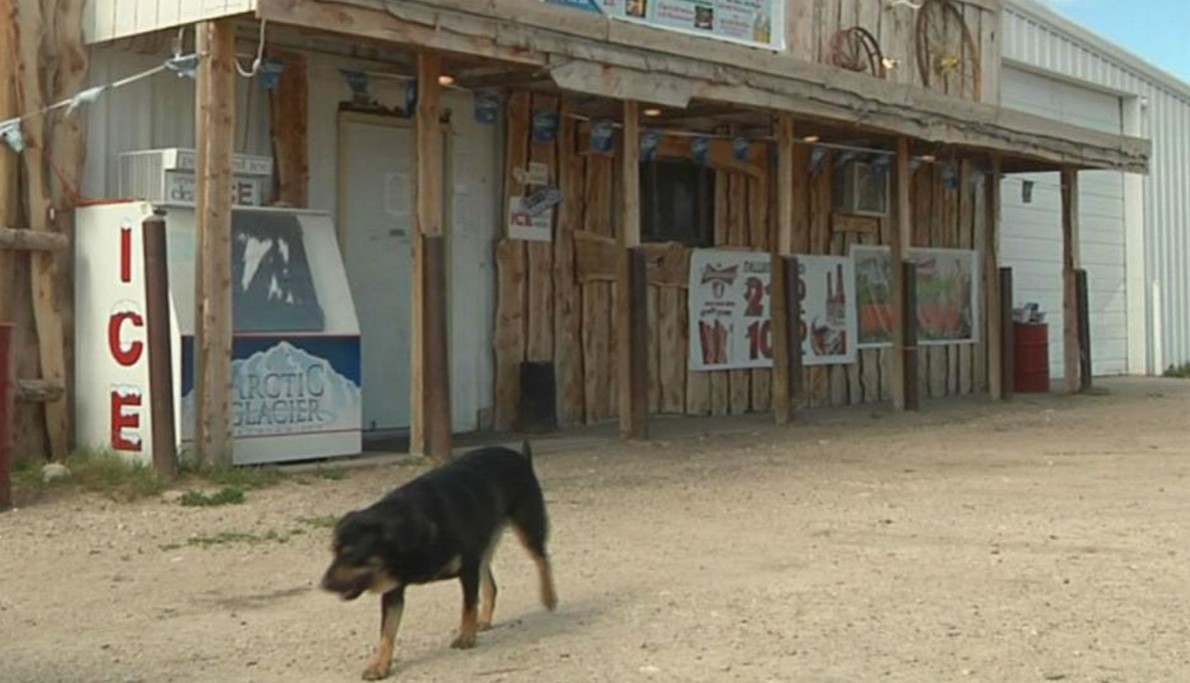 Il villaggio fantasma negli USA
