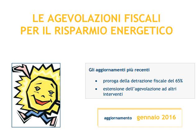 Agevolazioni fiscali risparmio energetico la nuova guida for Agevolazioni fiscali rimozione amianto agenzia entrate