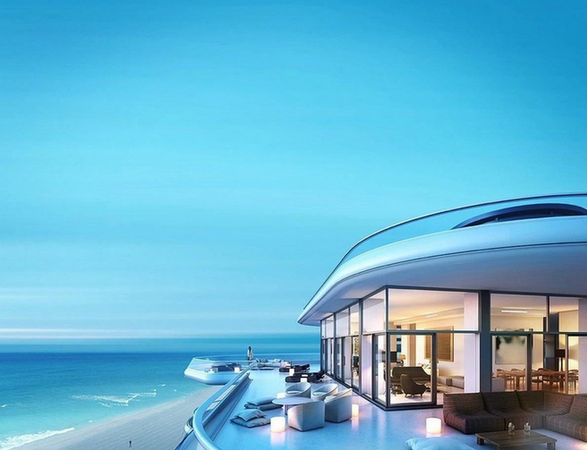 La casa vista mare a Miami