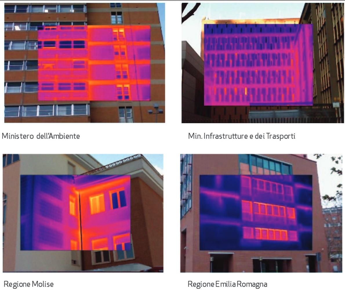 Edifici con problemi di isolamento termico