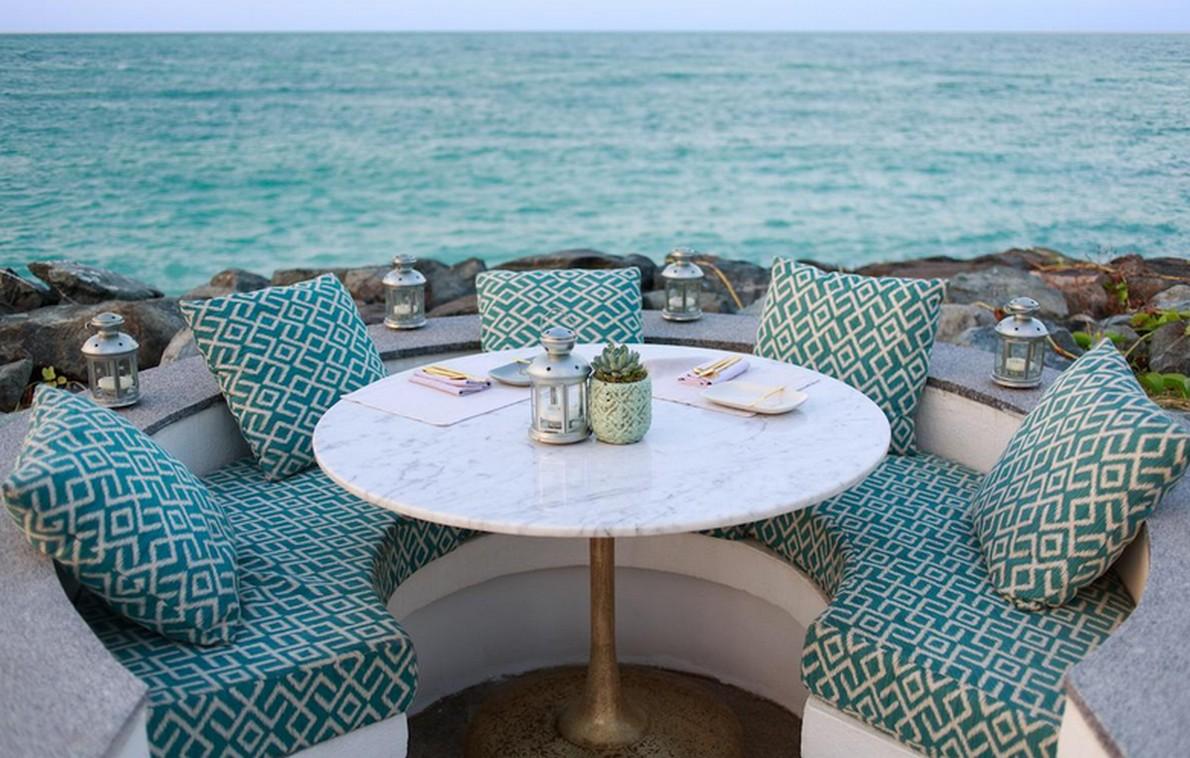 Terrazza sul mare dell'hotel