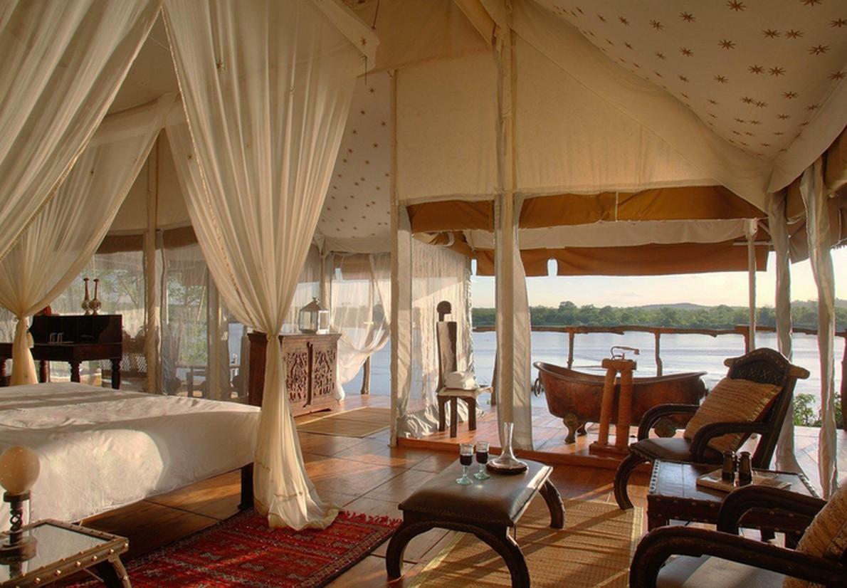Resort di lusso in Tanzania