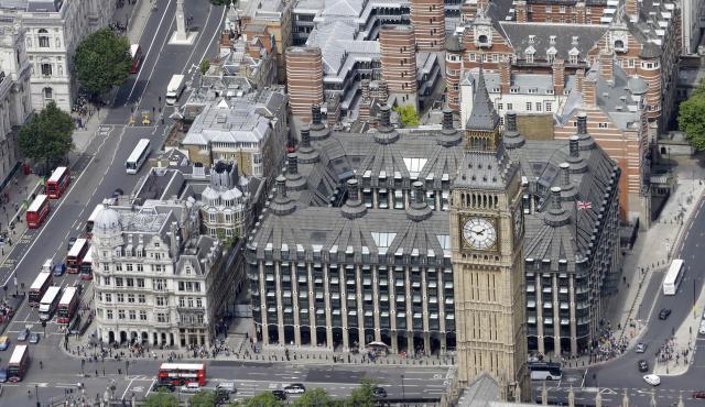 Immagine di Londra dall'alto