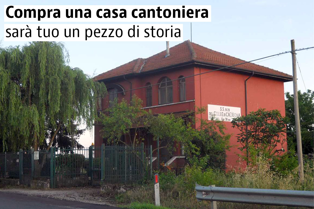 Case cantoniere abbandonate in vendita nel 2017 for 3 case di storia in vendita