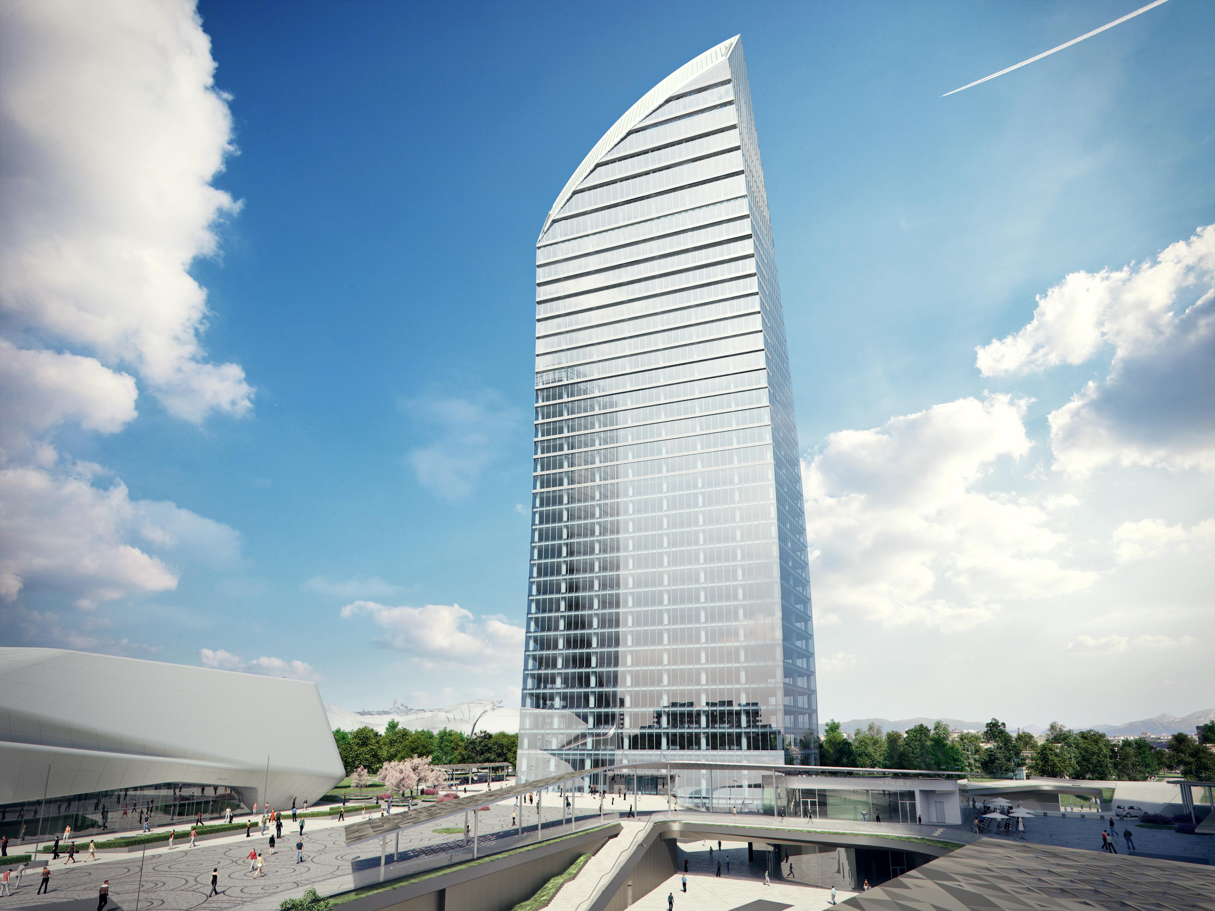La torre Libeskind a Milano