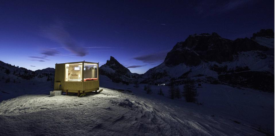 Alloggio per dormire sulle Dolomiti