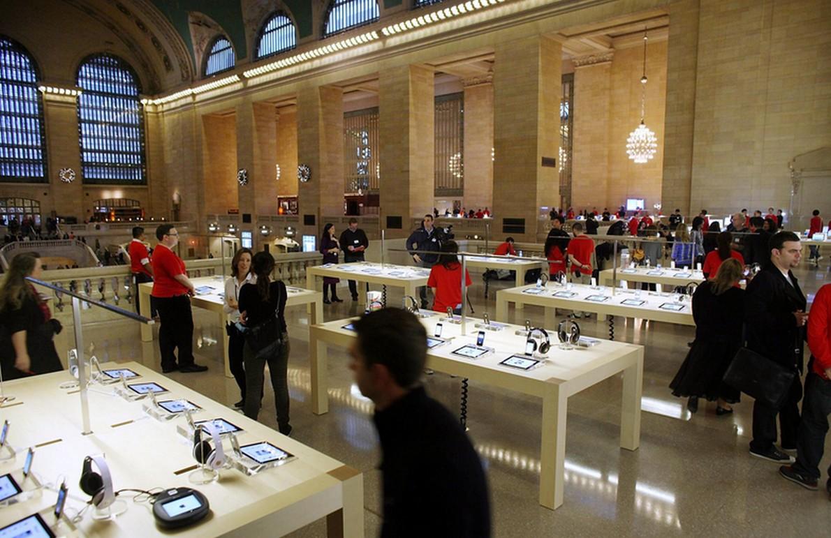 Apple store a Manhattan, New York