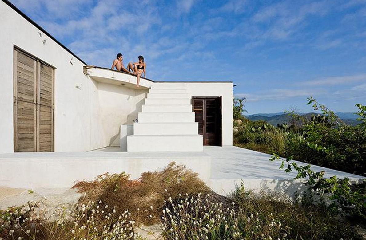 Casa immersa nella natura in Messico