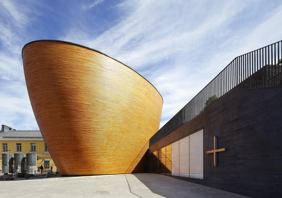 Una chiesa moderna