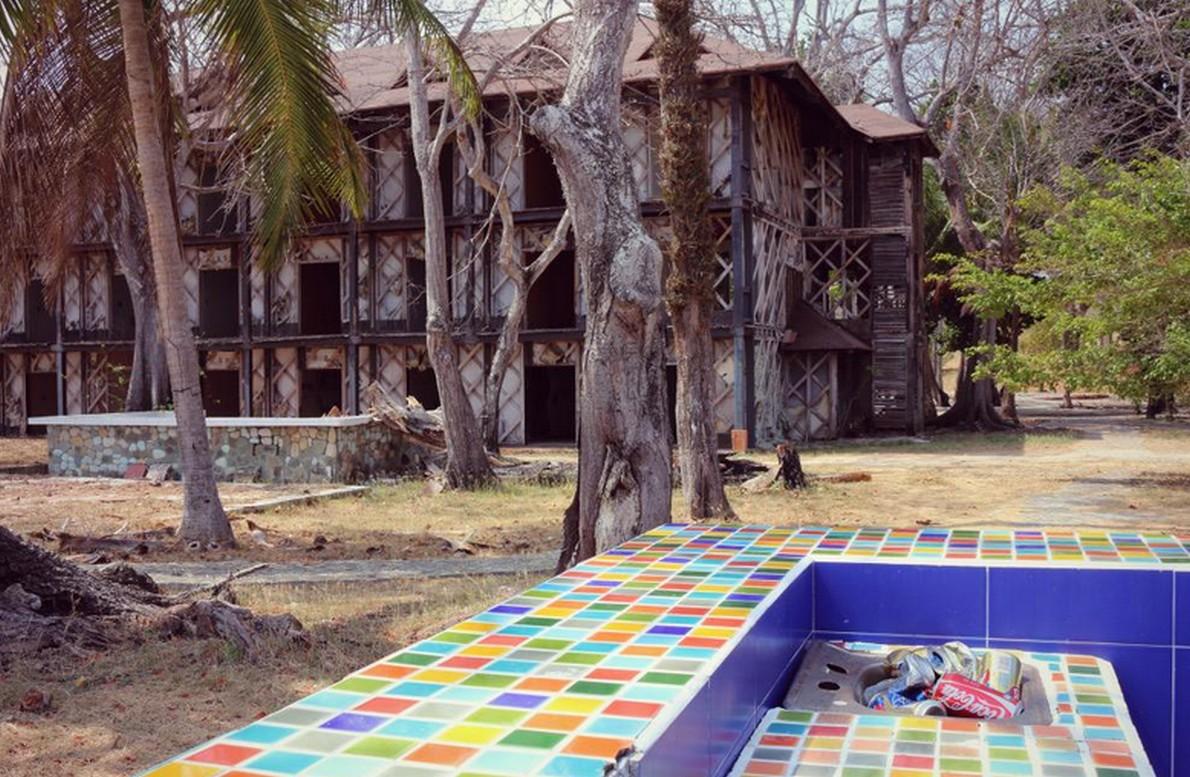 Le rovine del resort di lusso a Panama