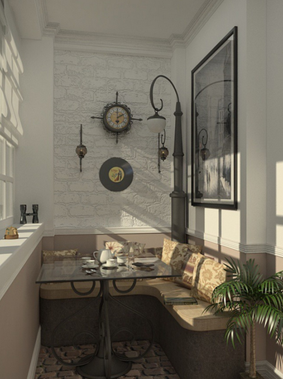 Arredare terrazzo idealista news for Arredo per balconi