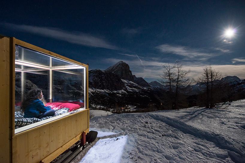 Hotel per dormire sotto le stelle