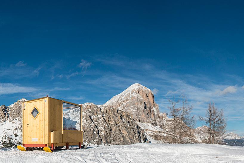 Lo Starligh Room sulle Dolomiti