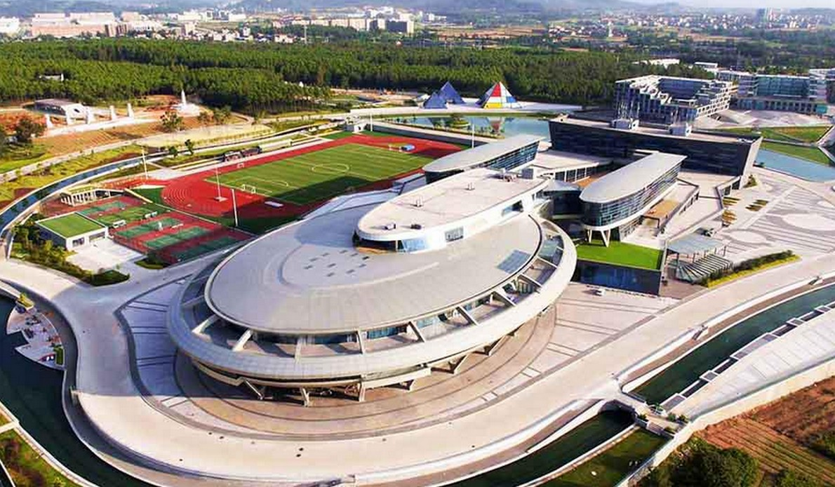 Edificio con forma di astronave