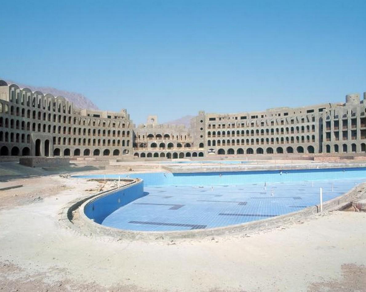 Il resort di lusso abbandonato in Egitto