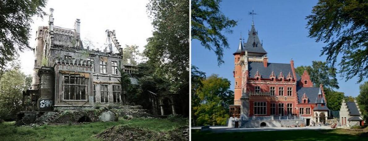 La residenza storica ristrutturata in Belgio
