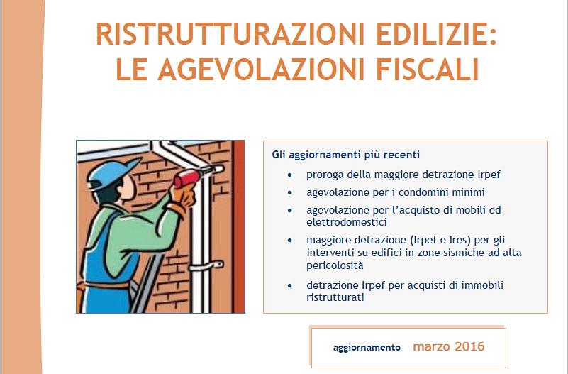 La Guida Aggiornata Sulle Ristrutturazioni Edilizie Dellu0027Agenzia Delle  Entrate