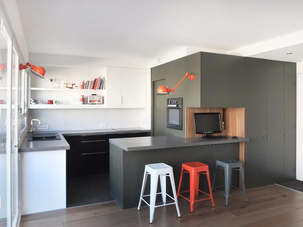 Idee per avere una cucina grande bella e di impatto anche for Lo space senza pareti
