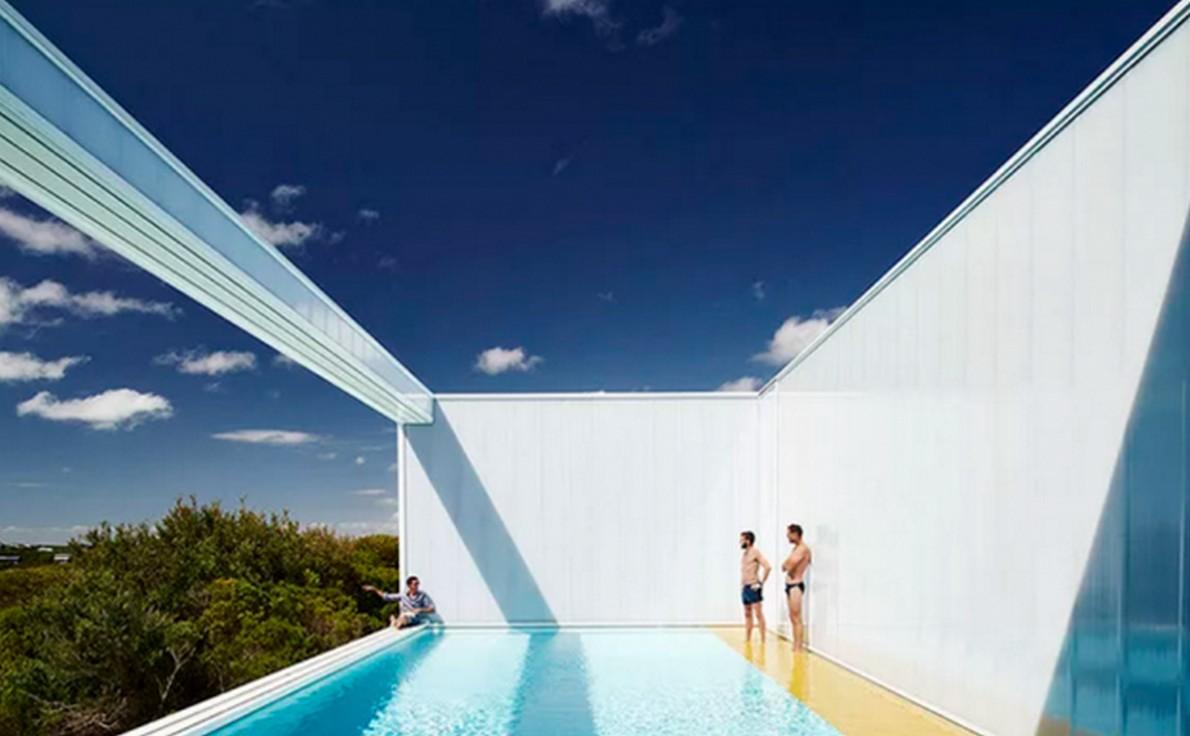 Piscina terrazza disegno : ... tutto ? minimalista. Tranne la piscina (galleria) ? idealista/news