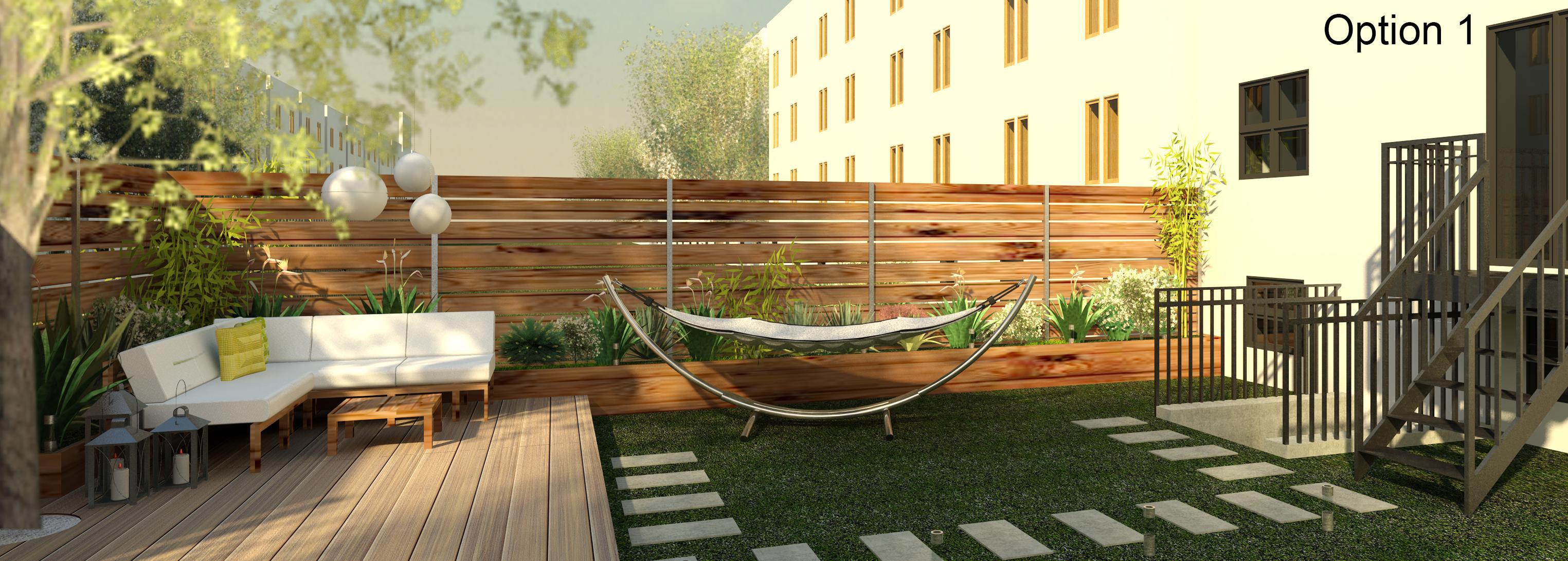 Un angolo di paradiso in città: terrazze di design, cortili hip e ...