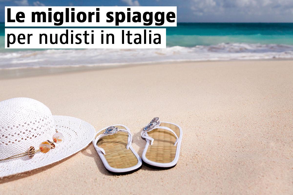 Le migliori spiagge per nudisti in Italia