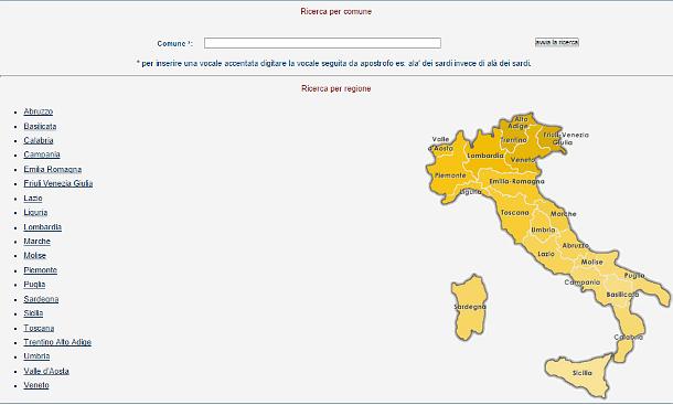 Elenco dei Comuni italiani che hanno deliberato le aliquote Tasi e Imu per il 2016