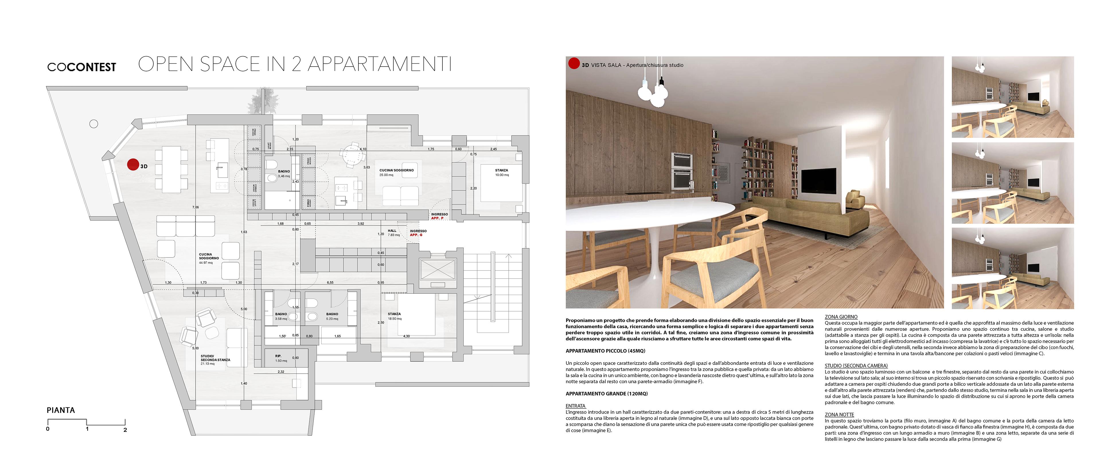 Progetto Appartamento 85 Mq alcune idee per dividere una casa in più unità — idealista/news