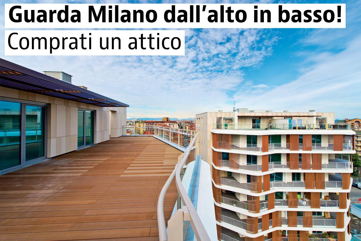 Attici di nuova costruzione a Milano