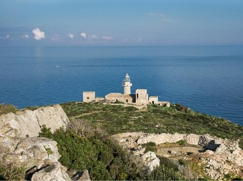 Faro di Capo Grosso nell'Isola di Levanzo, fonte (Agenzia del Demanio)