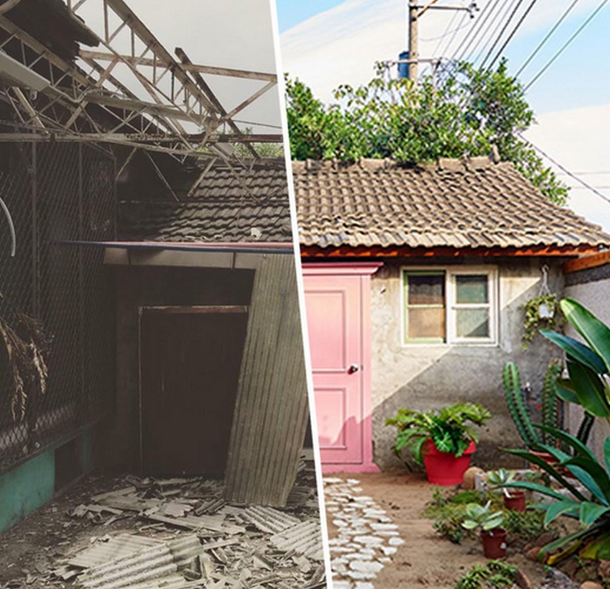 Da base militare della seconda guerra mondiale a casa for Materiali da costruzione della casa
