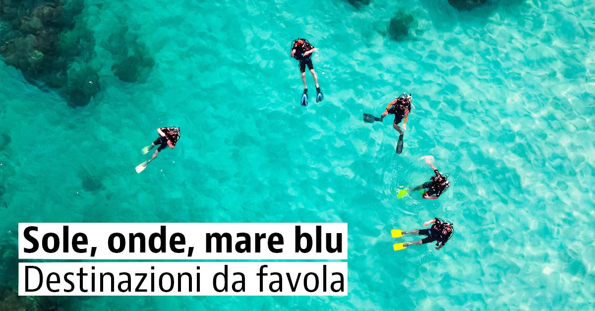 Sub, Snorkeling e Surf, le migliori destinazioni