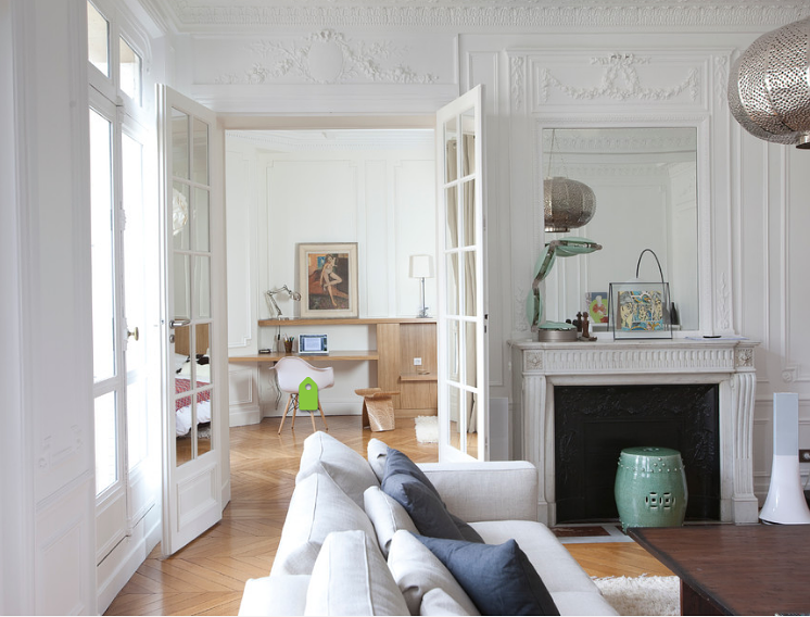 Come valorizzare un appartamento per una famiglia dotato di appena due finestre foto - Finestre liberty ...