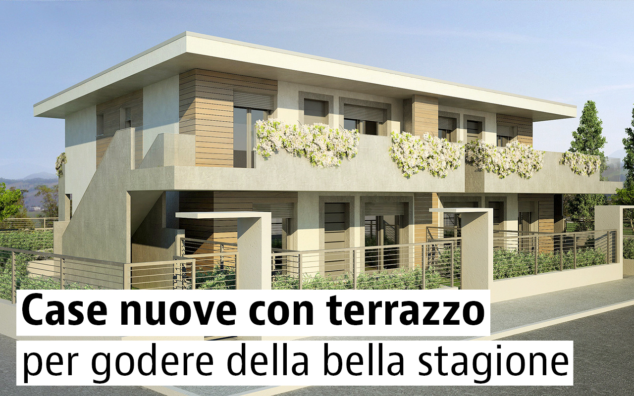 Case di nuova costruzione con terrazzo idealista news for Costo di costruzione casa