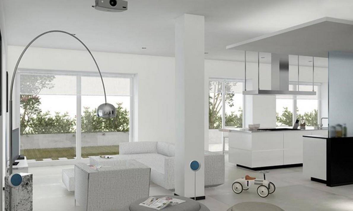 Rivoluzionare un grande attico rendendo fruibili al massimo tutti gli spazi (Foto)