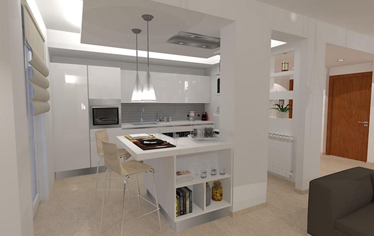 Arredare Cucina E Soggiorno Insieme. Cool Cucina A Vista Idee Per ...
