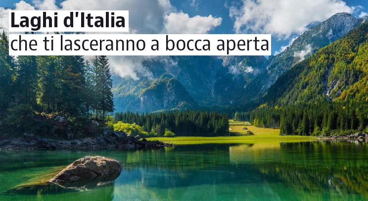 I laghi pi belli d 39 italia che non conoscevi idealista news for Disegni di laghi