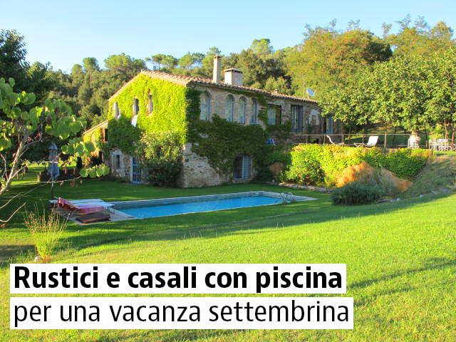Una selezione dei migliori rustici e casali con piscina