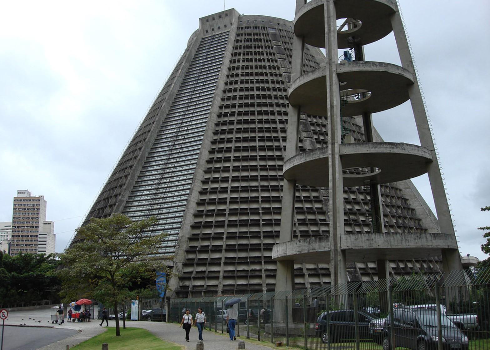 Catedral Metropolitana de São Sebastião do Rio de Janeiro by Edgar Fonceca, 1976