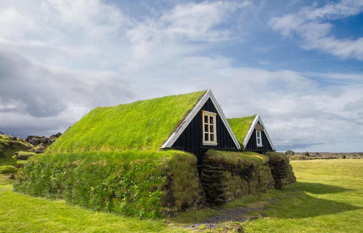 Case giardino a basso impatto ambientale