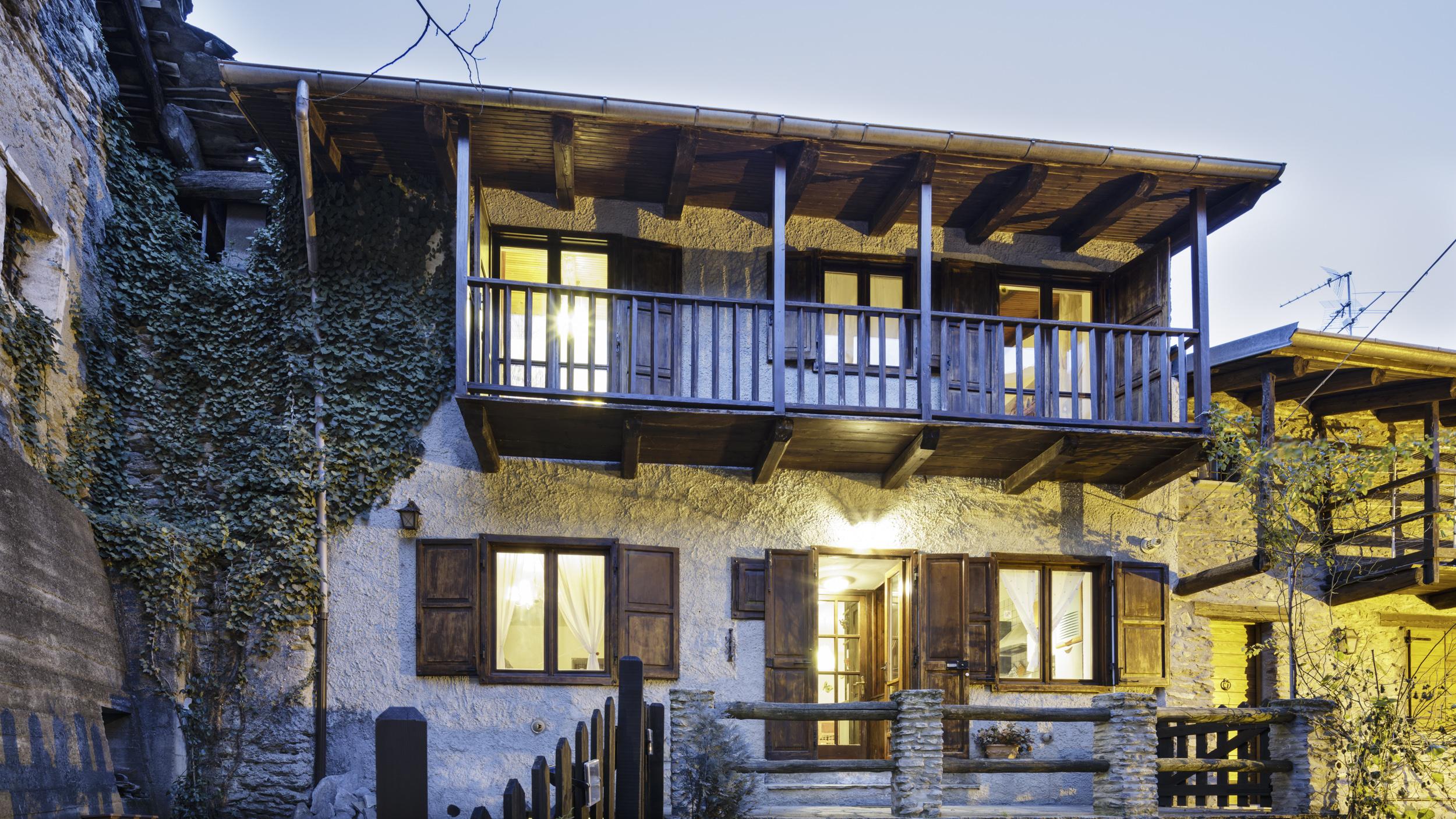 Case vacanze con vista sulle montagne idealista news - Casa con giardino torino ...
