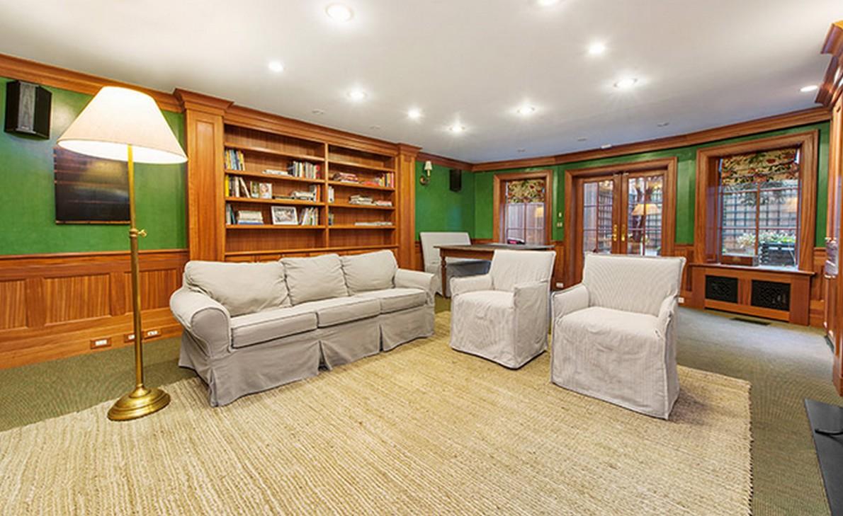 Una sala dell'appartamento appartenuto a Henry Fonda