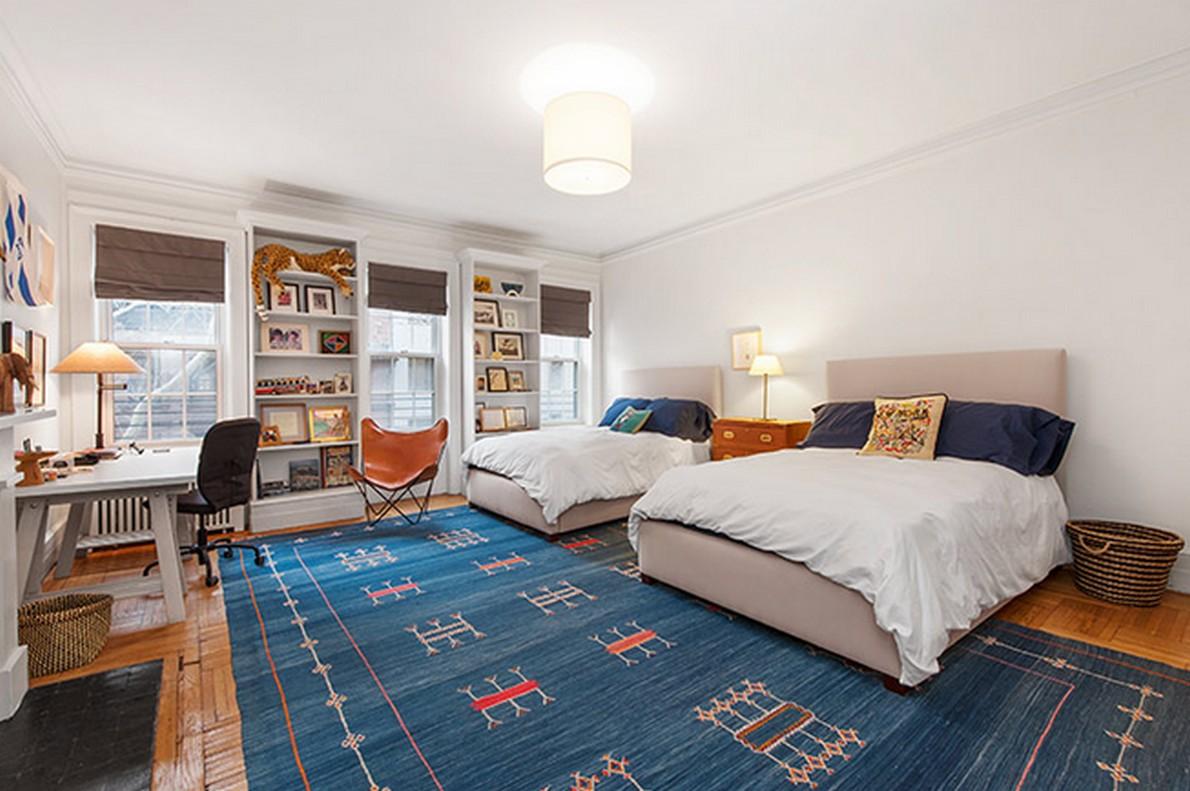 Un'altra camera da letto dell'appartamento appartenuto a Henry Fonda
