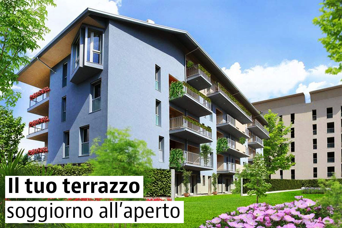 Case con terrazzo in vendita