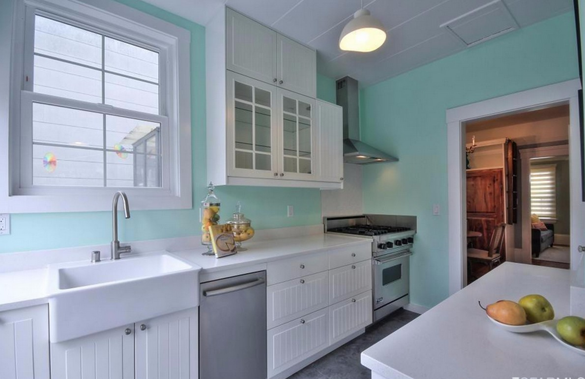Vista sulla cucina dell'immobile